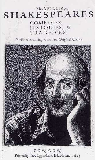 a picture of a casual Mr William Shakespeare